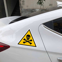 Danger sign ( car sticker )
