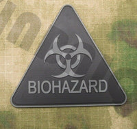 3D PVC Patch Biohazard