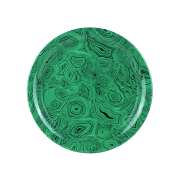 Tray Ø40 Malachite Green