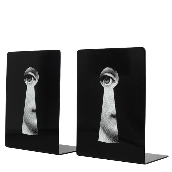 Bookends Serratura black/white