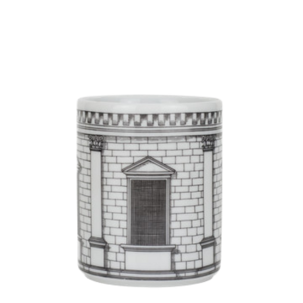 Pencil holder Architettura black/white
