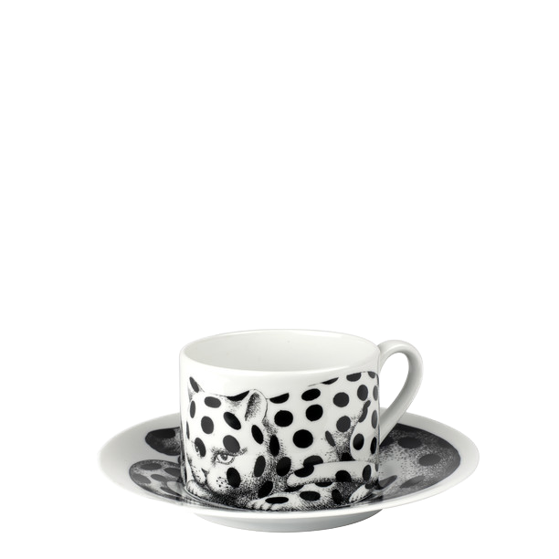 Tea cup High Fidelity Fois black/white