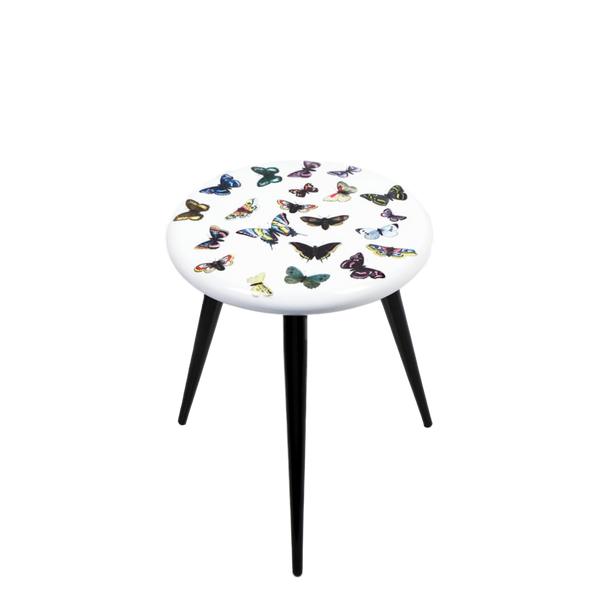 Stool Farfalle colour/white