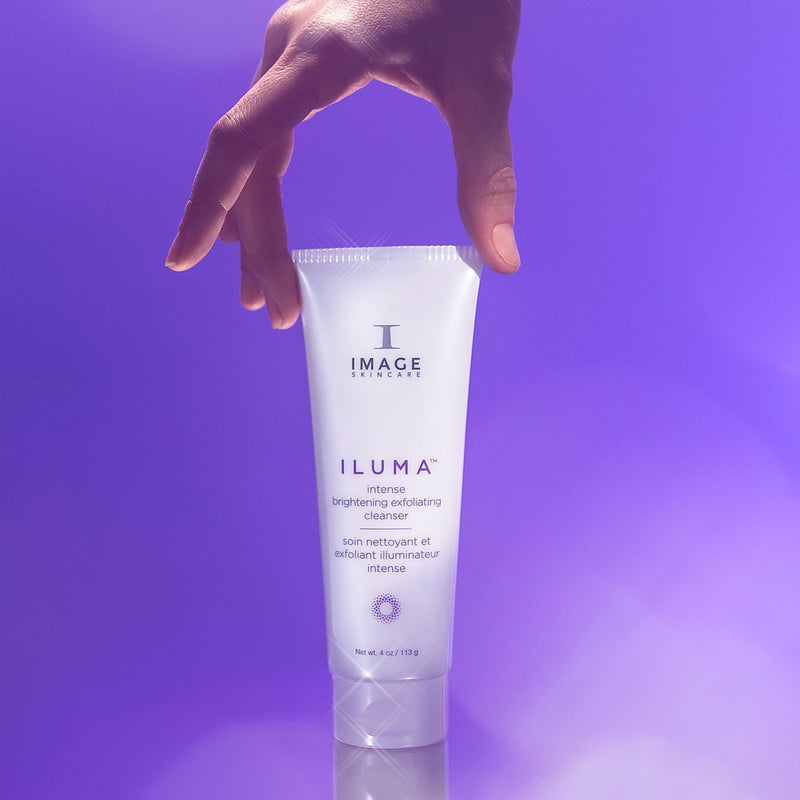 ILUMA intense brightening exfoliating cleanser