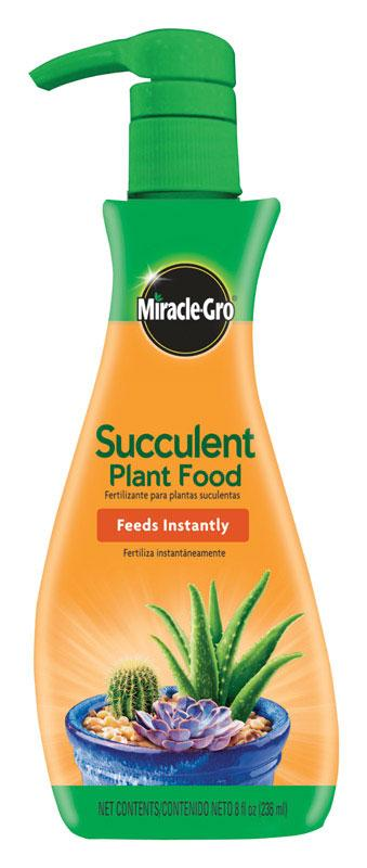 Miracle-Gro  Succulent  Liquid  Plant Food  8 oz.