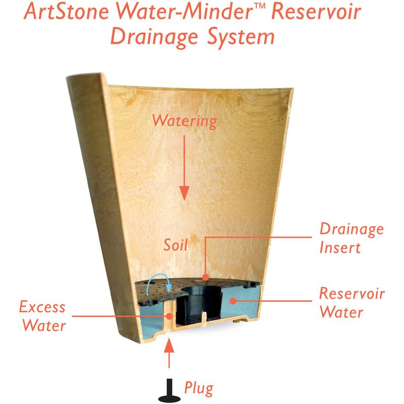 Novelty  Artstone  8 in. H x 7.81 in. W x 6.68 in. D Resin/Stone