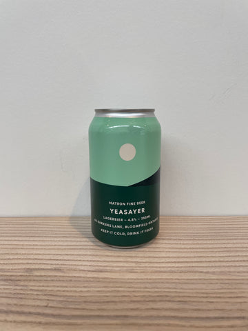 Matron Fine Beer - Yeasayer (355mL)