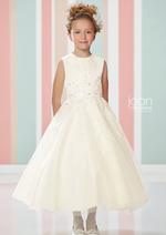 Lace Applique Aline Communion Dress
