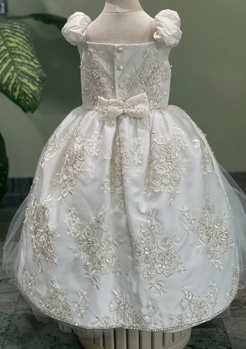Sara's Exclusive! Couture Baptism or Party Dress