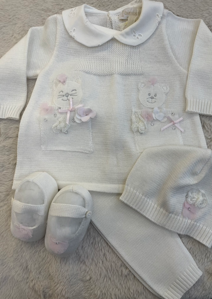 Sara's Exclusive! Made in Italy Girl Knit Outfit