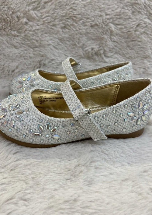 Girls Embellished MaryJane Flat Shoe