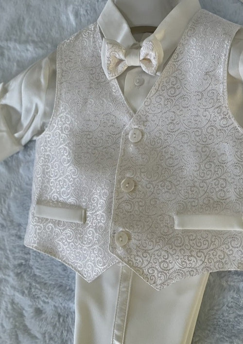 Made in Italy Boys Christening Suit - Sara's Exclusive!