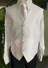 Sara's Exclusive! Boys Italian Tonal Stripe Communion Suit