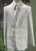Sara's Exclusive! Italian Matte Silk Textured Communion Suit