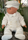 Made in Italy Boys Christening With Cardigan - Sara's Exclusive!