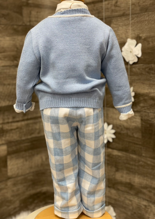 Sara's Exclusive! Boys Cardigan Outfit