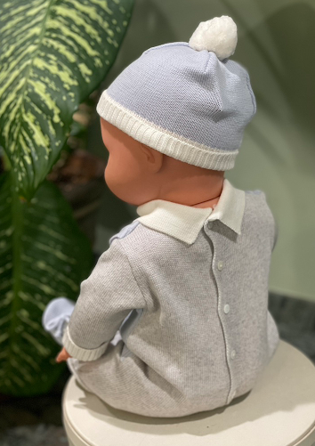 Knit Wool Boys Outfit