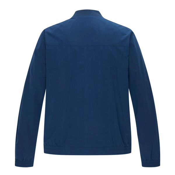 Claye Bomber Blouson In Cornflower Blue
