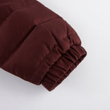 Keasden Down Filled Jacket With Quilted Sleeve