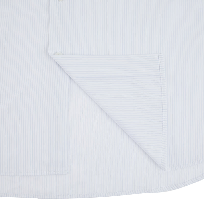 Henley Formal Shirt In White