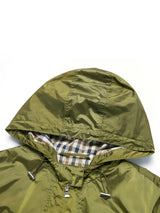 Ingrid Hooded Mac In Pear