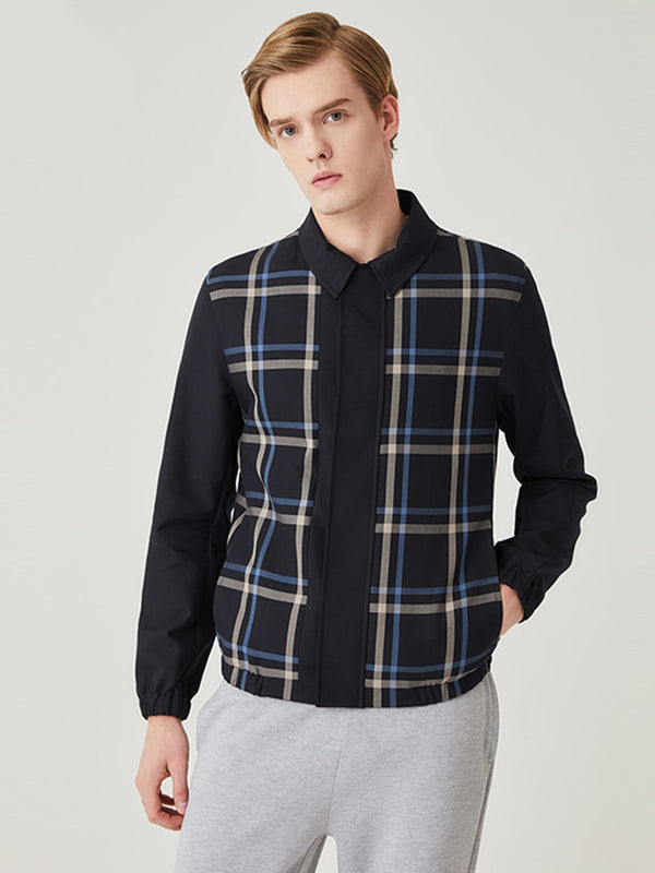 Darlington Large Check Blouson