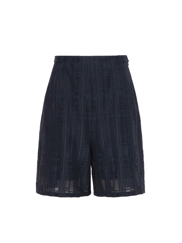 Aida Anglaise Shorts In Navy