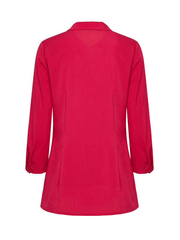Romane Blouse In Fuschia