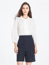 Romane Blouse In Ivory