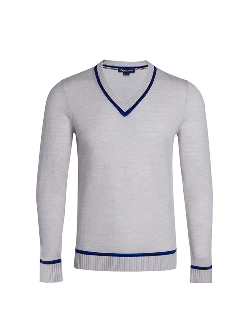 Whitehill Colour Block Cricket Sweater