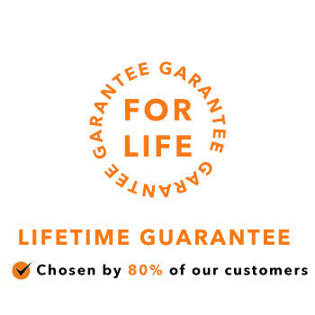 Lifetime Product Guarantee (50% off)