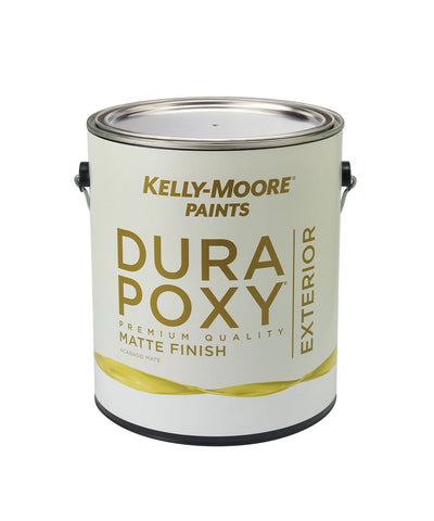 DuraPoxy Exterior Matte Paint, available at Kelly-Moore Paints for Contractors.