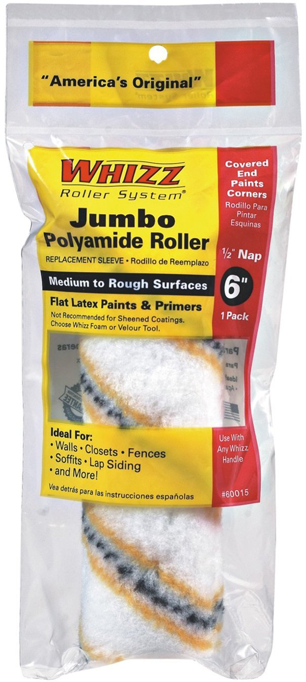 Whizz Premium Jumbo Paint Roller Cover, available at Kelly-Moore Paints for Contractors.