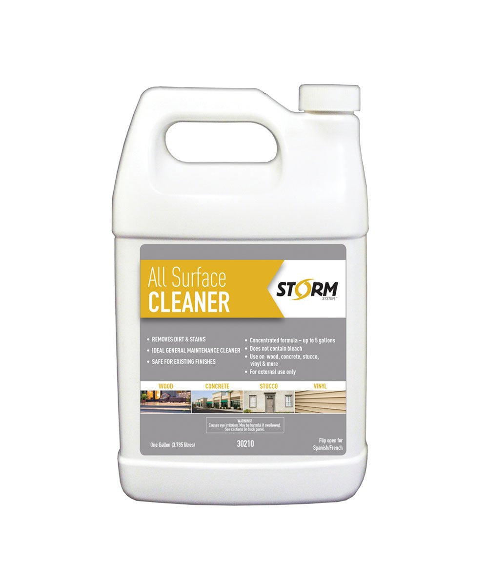 STORM ALL SURFACE CLEANER, available at Kelly-Moore Paints for Contractors.
