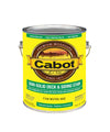 cabot semi solid deck and siding stain oil modified resin gallon, available at Kelly-Moore paints for Contractors.