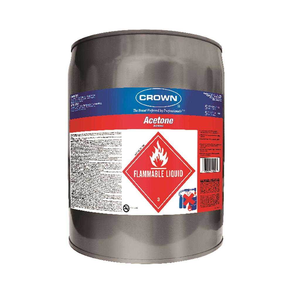 Crown Acetone CR.AC.M.05, available at Kelly-Moore Paints for Contractors.