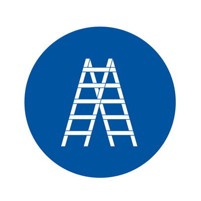 Ladder icon. Contractors can shop all their ladder equipment needs at Kelly-Moore Paints.