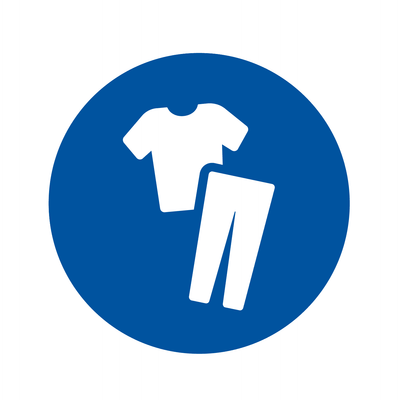 Painter's clothing icon. Contractors can shop all their painter's wear needs at Kelly-Moore Paints.