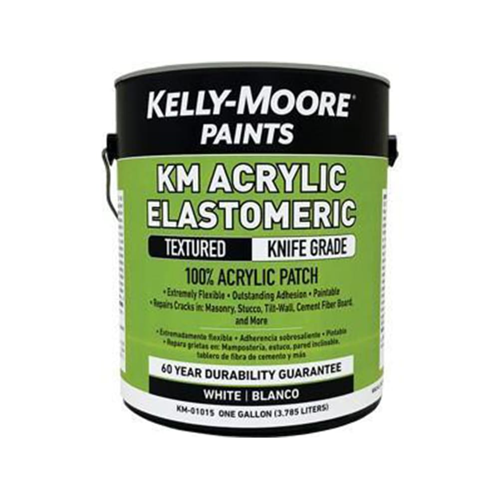 Kelly-Moore Acrylic Elastomeric Textured Knife Grade, available at Kelly-Moore Paints for Contractors.