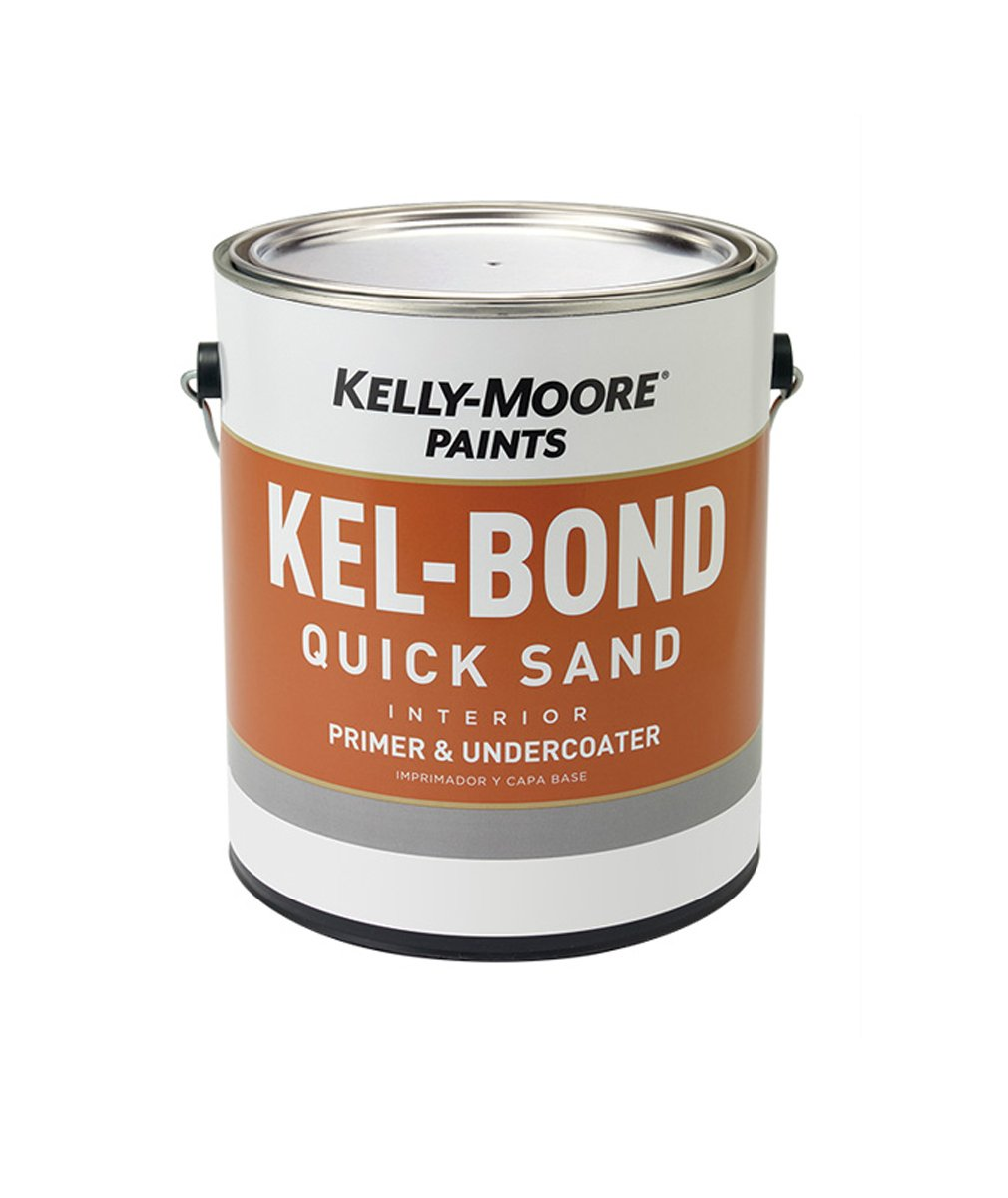Kel-Bond Quick Sand Primer, available at Kelly-Moore Paints for Contractors.
