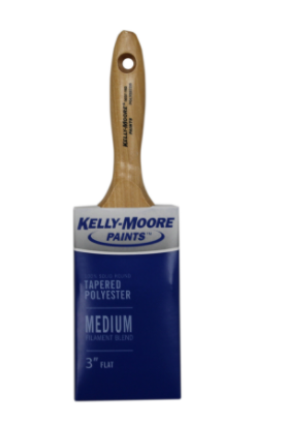100% Solid Tapered Polyester Varnish, available at Kelly-Moore Paints for Contractors.