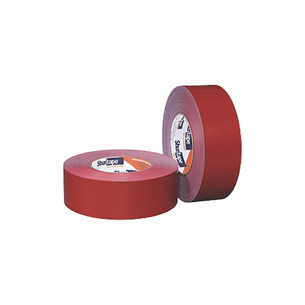 48mm x 55m Red 14 Day UV Resistant Cloth Duct Tape, available at Kelly-Moore Paints for Contractors.