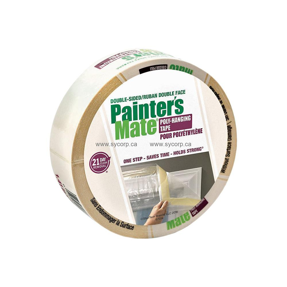 36mmx22.8m Painter Mate Double Sided Poly Hang Tape, available at Kelly-Moore Paints for Contractors.