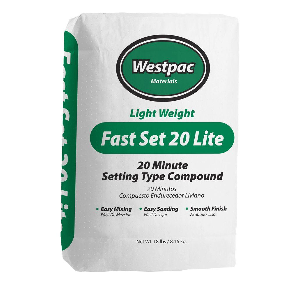 25Lb Bag White Fast Set 20 Joint Compound Powder, available at Kelly-Moore Paints for Contractors.