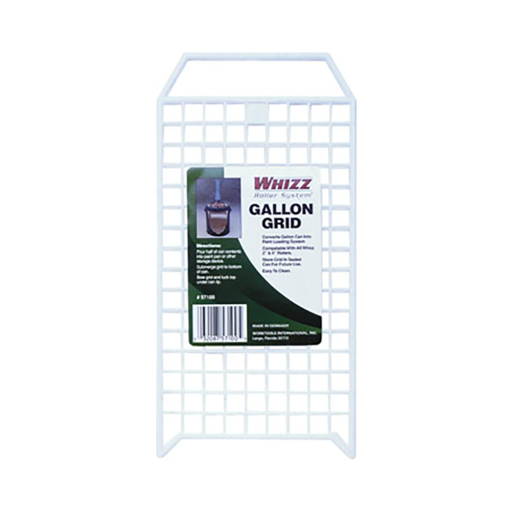 1 Gallon White Grid, available at Kelly-Moore Paints for Contractors.