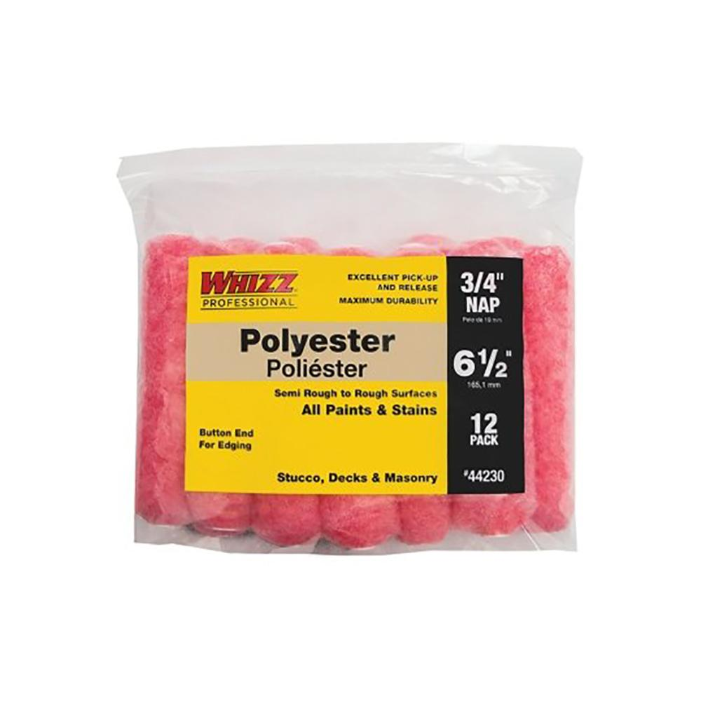 "6-1/2"" Pink Flex Polyester 1/2"" Nap Mini Roller 12 Pack, available at Kelly-Moore Paints for Contractors."