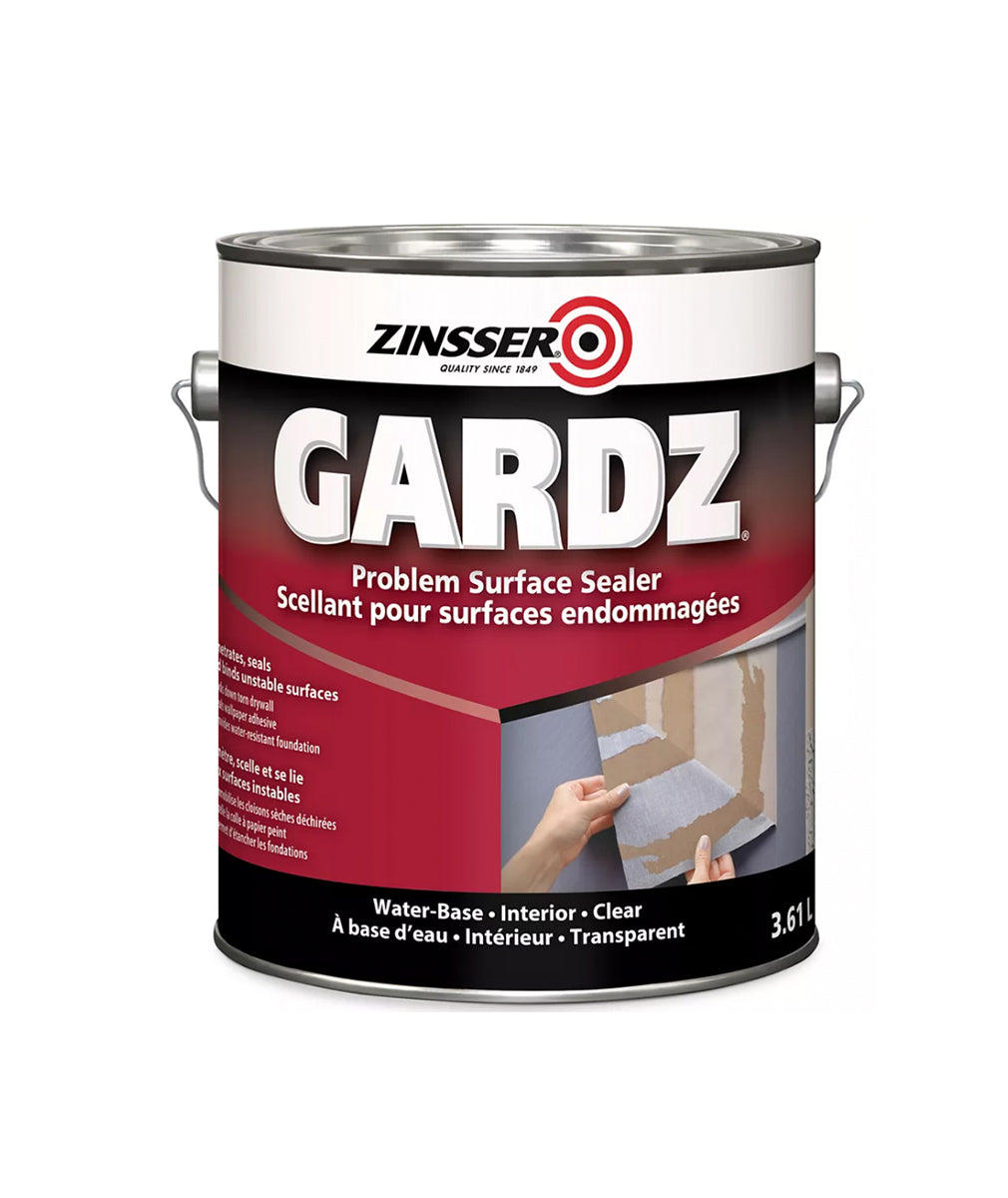 Zinsser Gardz Drywall Sealer, available at Kelly-Moore Paints for Contractors.