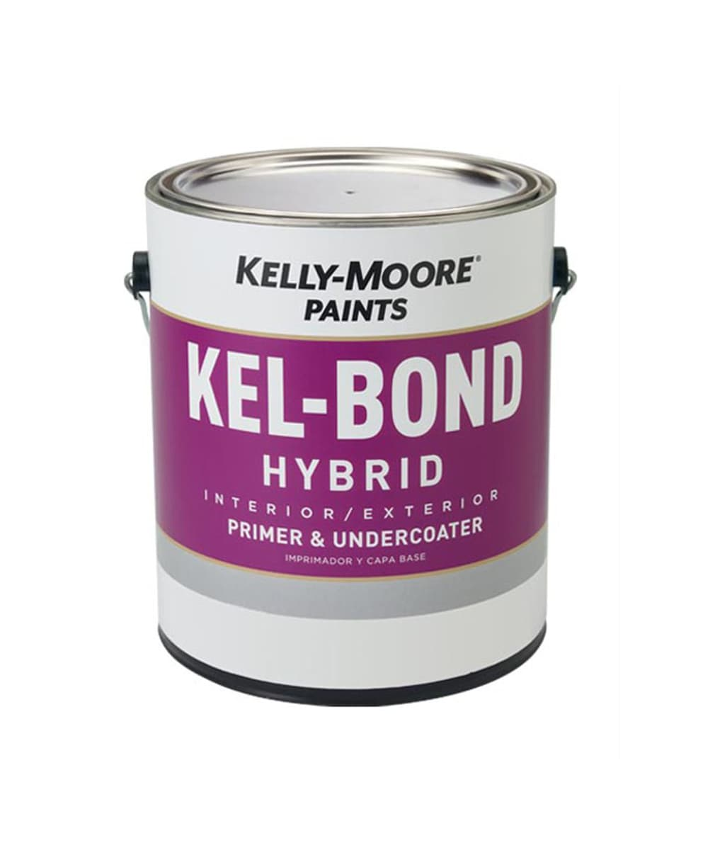 Kel-Bond Hybrid Primer, available at Kelly-Moore Paints for Contractors.