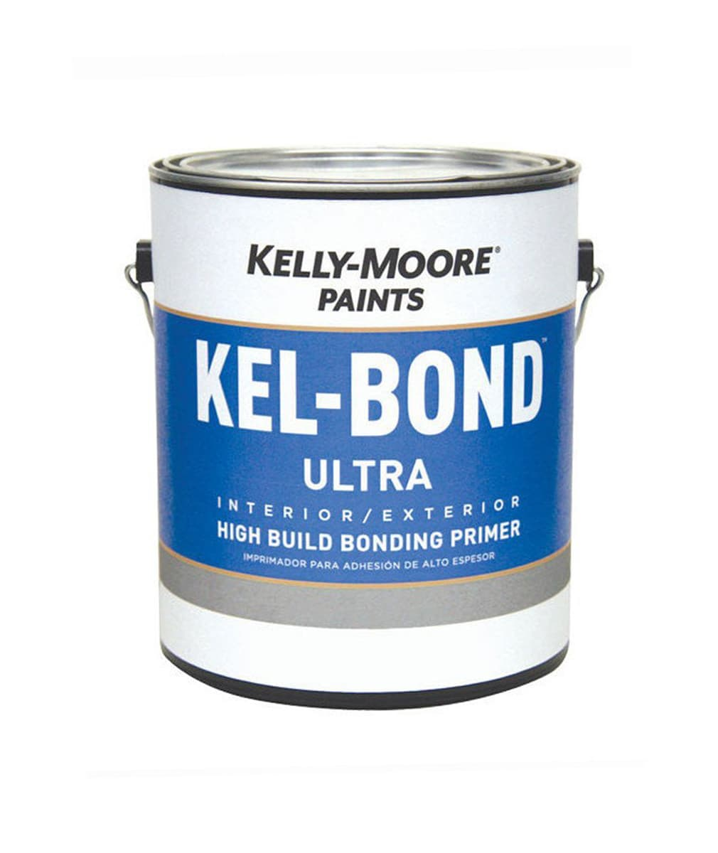 Kel-Bond Ultra Primer, available at Kelly-Moore Paints for Contractors.