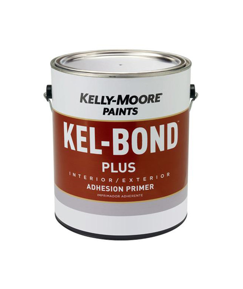Kelly-Moore Paints Kel-Bond Plus Primer, available at Kelly-Moore Paints for Contractors.